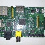 Raspberry Pi: vista frontal
