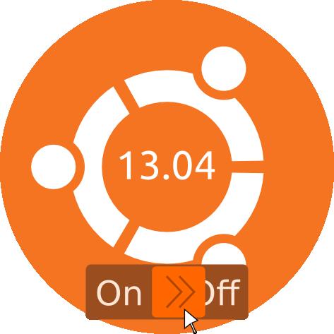 Ubuntu OFF 13.04