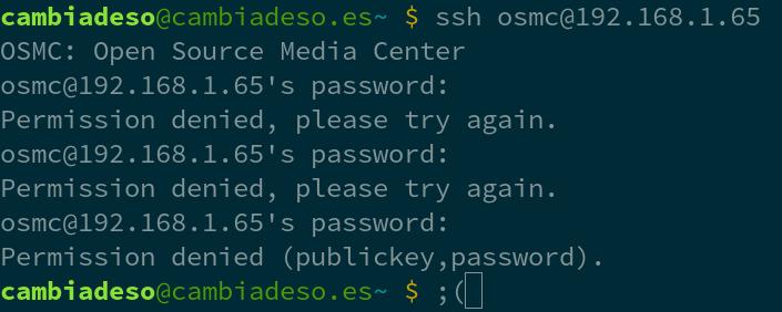 Recuperar el acceso al sistema cuando pierdes la contraseña de usuario