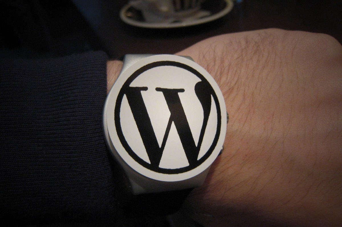 Reloj Wordpress