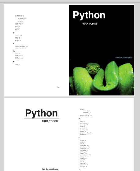 doble pagina librito