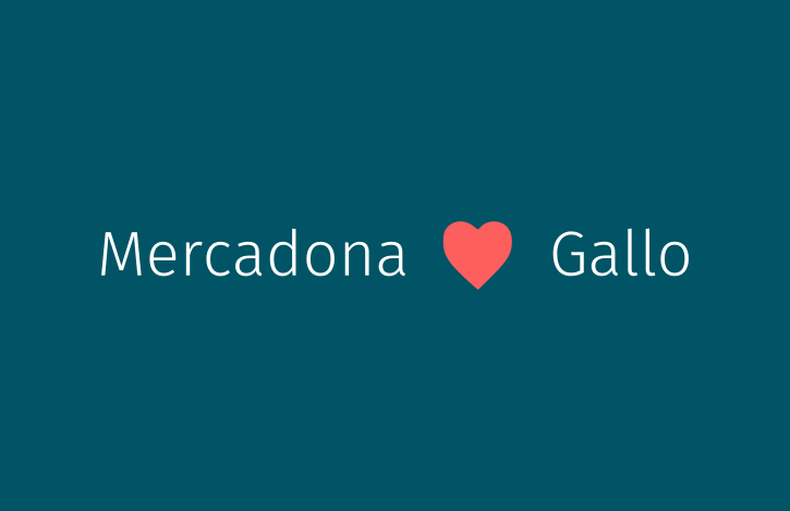 Mercadona Loves Gallo