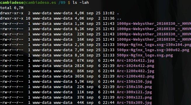[Tip] Mostrar el tamaño de los ficheros en KB o MB al hacer ls -l