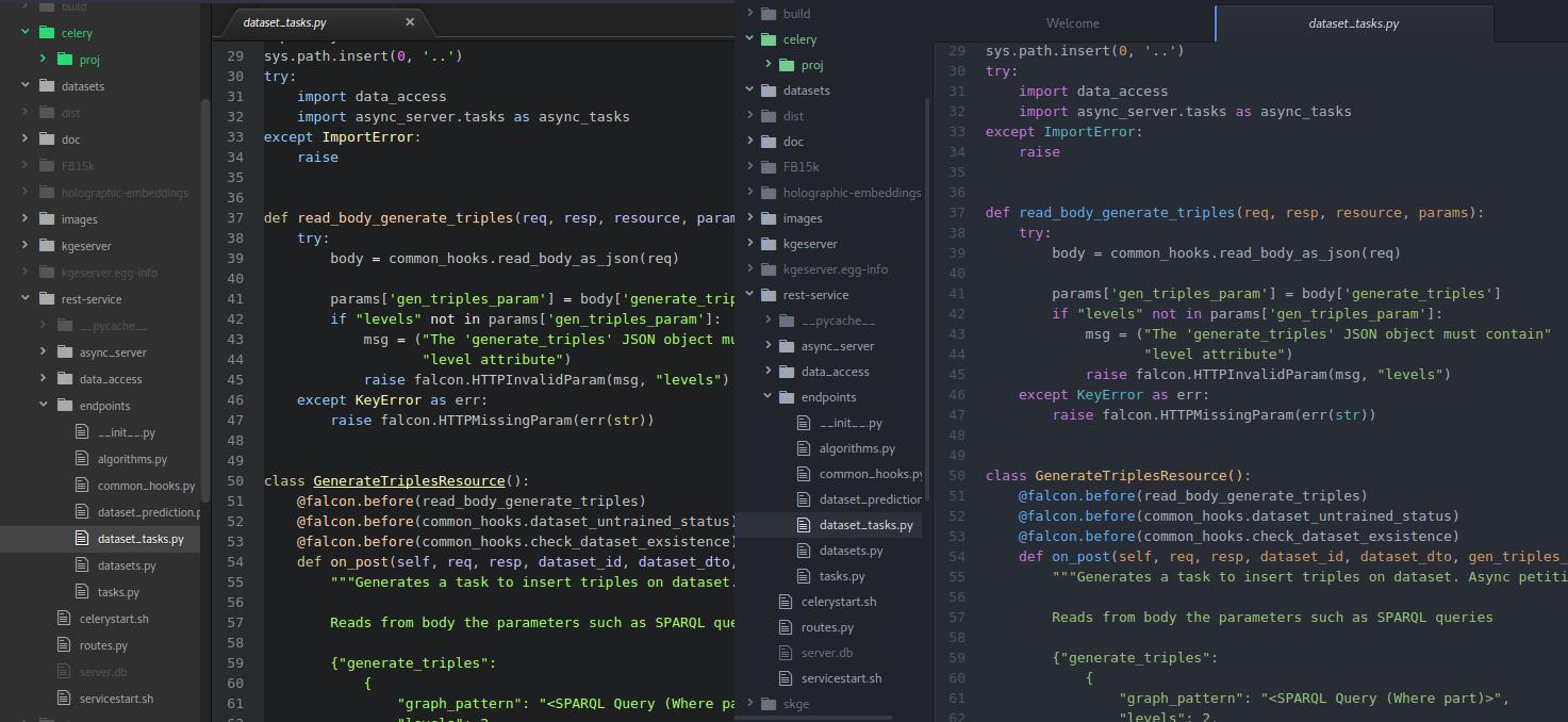 Atom antes y después de la versión 1.0 y de la llegada del tema One